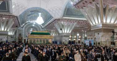 مراسم آغاز دهه فجر در مرقد امام خمینی (ره)