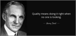 سخنی از هنری فورد